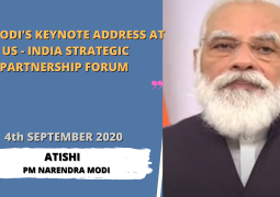 PM Modi's keynote address at US-India Strategic Partnership Forum