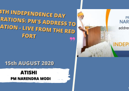 74th Independence Day Celebrations | PM's address to the Nation – LIVE from the Red Fort