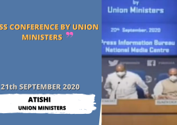 Press Conference by Union Ministers