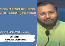 Press Conference by Union Minister Prakash Javadekar