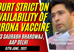 SUPREME COURT OF INDIA STRICT ON AVAILABILITY OF COVID 19 VACCINE IN INDIA